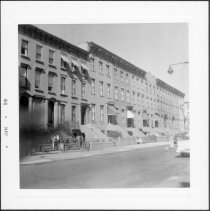 Image of [View of north side of Carroll Street.] - John D. Morrell photographs
