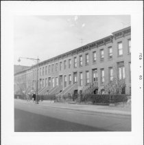 Image of [View of north side of Wyckoff Street.] - John D. Morrell photographs