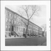 Image of [North side of Bergen Street.] - John D. Morrell photographs