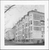 Image of [East side of Clinton Street.] - John D. Morrell photographs