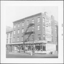 Image of [View of east side of Court Street.] - John D. Morrell photographs