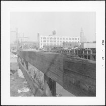 Image of [View of termination of Gowanus Canal taken from Degraw Street.] - John D. Morrell photographs