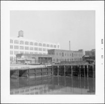 Image of [View of end of Gowanus Canal.] - John D. Morrell photographs