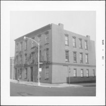 Image of [Northeast corner of Bond Street.] - John D. Morrell photographs