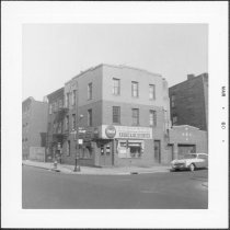 Image of [Northwest corner of Bond Street.] - John D. Morrell photographs