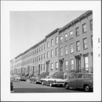 Image of [View of north side of Sackett Street.] - John D. Morrell photographs