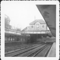 Image of [View from N.Y.-bound side of Beverley Road Station.] - John D. Morrell photographs