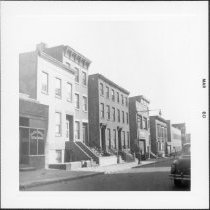 Image of [View of north side of Dean Street.] - John D. Morrell photographs