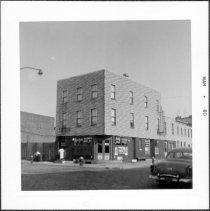 Image of [Northeast corner of Carroll Street.] - John D. Morrell photographs