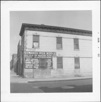 Image of [Northeast corner of First Street.] - John D. Morrell photographs