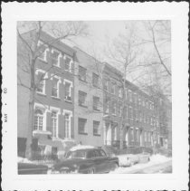 Image of [West side of Sidney Place.] - John D. Morrell photographs