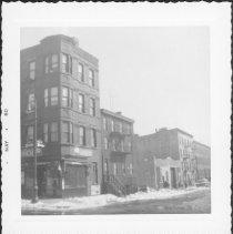 Image of [Northeast corner of Boerum Place and Dean Street.] - John D. Morrell photographs