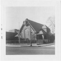 Image of [Parkville Congregational Church.] - John D. Morrell photographs