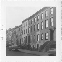 Image of [View of north side of Warren Street.] - John D. Morrell photographs