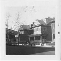 Image of [View of north side of 85th Street.] - John D. Morrell photographs
