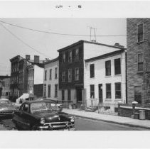 Image of [View of north side of Luqueer Street.] - John D. Morrell photographs