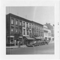 Image of [View of west side of Court Street.] - John D. Morrell photographs
