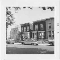Image of [View of south side of Greenwood Avenue.] - John D. Morrell photographs