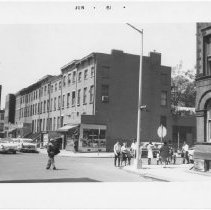 Image of [View of Hoyt Street looking south.] - John D. Morrell photographs