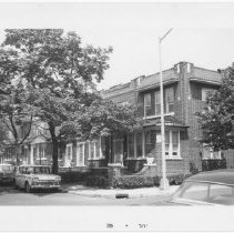 Image of [View of west side of Bliss Terrace looking north.] - John D. Morrell photographs