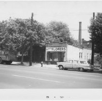Image of [Regina Flowers on north side of 65th Street.] - John D. Morrell photographs