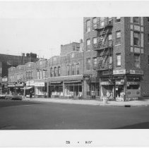 Image of [East side of 3rd Avenue.] - John D. Morrell photographs