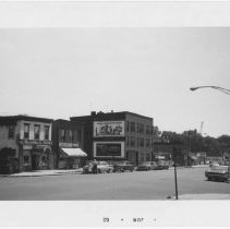 Image of [View of east side of 4th Avenue.] - John D. Morrell photographs
