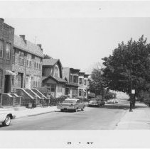 Image of [View of north side of 100th Street.] - John D. Morrell photographs