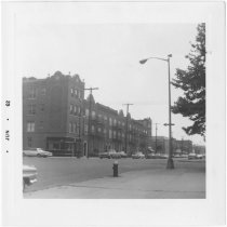 Image of [View of east side of 8th Avenue.] - John D. Morrell photographs