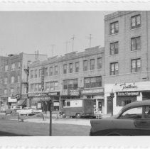 Image of [View of east side of Fourth Avenue.] - John D. Morrell photographs