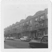 Image of [North side of 68th Street.] - John D. Morrell photographs