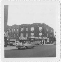 Image of [Northeast corner of 68th Street.] - John D. Morrell photographs