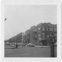 Image of [View of north side of 68th Street.] - John D. Morrell photographs