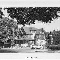 Image of [S. E. corner of Beverley Road and Argyle Road.] - John D. Morrell photographs