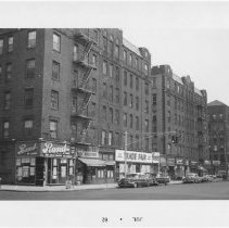 Image of [View of east side of Flatbush Avenue.] - John D. Morrell photographs
