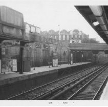 Image of [Newkirk Avenue station.] - John D. Morrell photographs