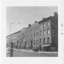 Image of [View of west side of Henry Street.] - John D. Morrell photographs