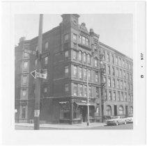 Image of [Northwest corner of President Street.] - John D. Morrell photographs