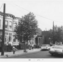 Image of [East side of Barbey Street.] - John D. Morrell photographs