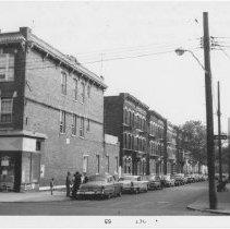 Image of [East side of Cleveland Street.] - John D. Morrell photographs