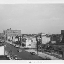 Image of [View looking east along Avenue X.] - John D. Morrell photographs