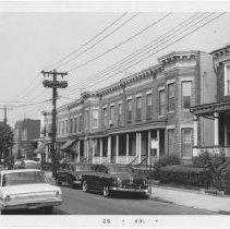 Image of [East side of Sheridan Avenue.] - John D. Morrell photographs