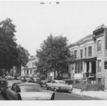 Image of [View of east side of East 15th Street.] - John D. Morrell photographs