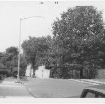 Image of [Bridge over L.I.R.R. tracks at E. 15th Street.] - John D. Morrell photographs