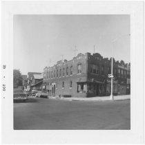 Image of [N.E. corner of Marlborough Road.] - John D. Morrell photographs