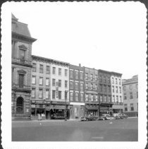 Image of [View of Broadway just east of Bedford Avenue, north side of Broadway.] - John D. Morrell photographs