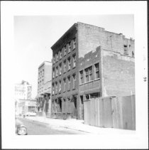 Image of [North side of Johnson Street between Gold Street and Prince Street, looking north.] - John D. Morrell photographs
