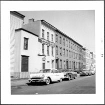 Image of [West side of Duffield Street between Myrtle Avenue and Johnson Street, looking north.] - John D. Morrell photographs