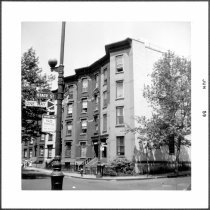 Image of [Northeast corner of Hicks Street (left) and State Street.] - John D. Morrell photographs