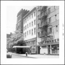 Image of [Henry Street (west side) looking southwest from corner of Clark Street. ] - John D. Morrell photographs